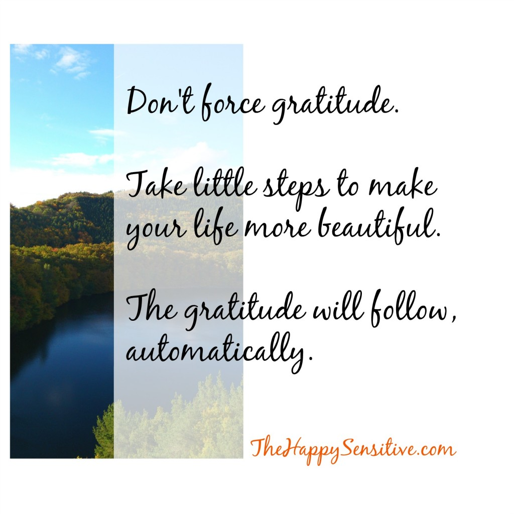 dont force gratitude