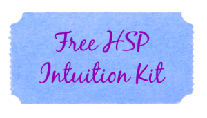 intuition kit blue purple cursive