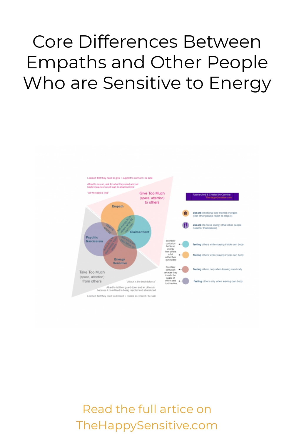 Core Differences Between Empaths and Other People Who are Sensitive to Energy