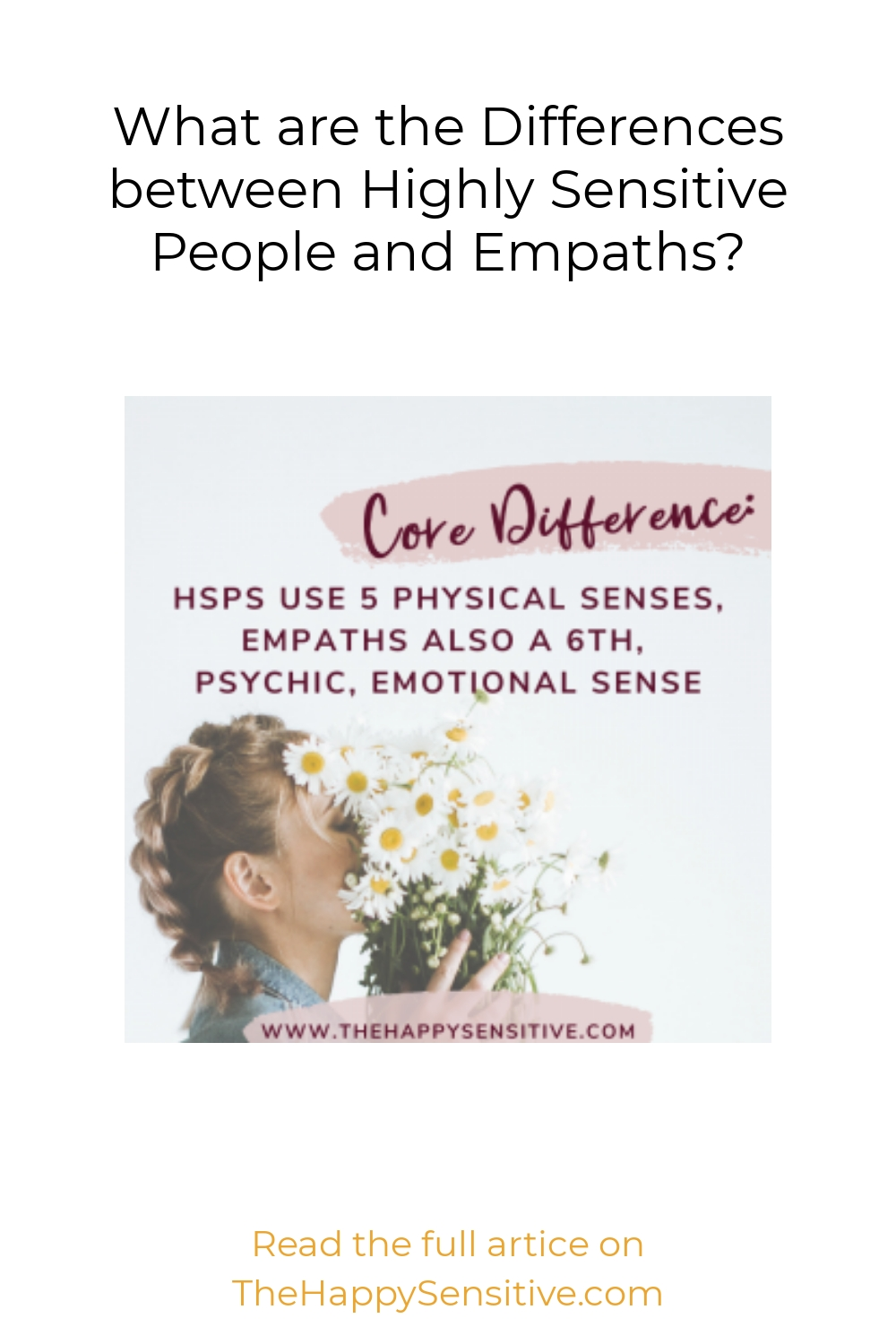What are the Differences between Highly Sensitive People and Empaths?